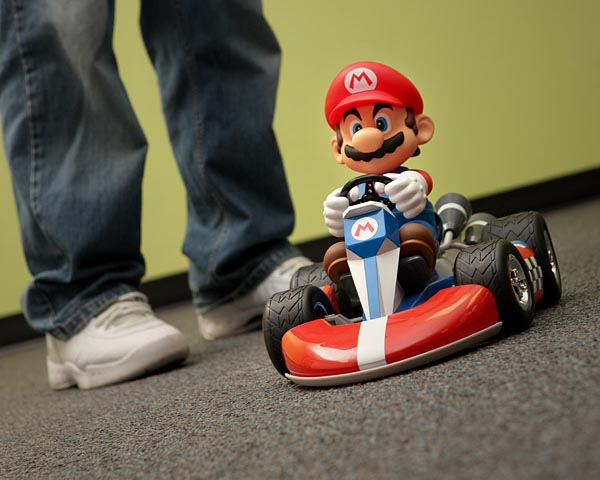 Super Deluxe Remote Control Mario Kart
