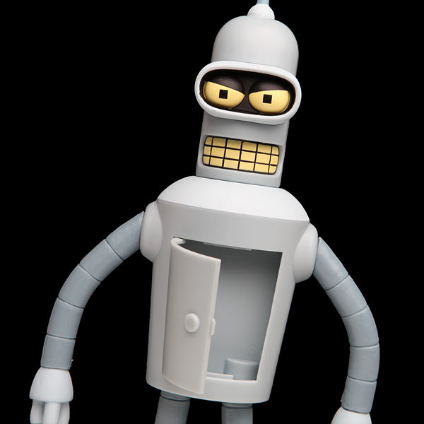 Talking Bender Action Figure Gadgetsin