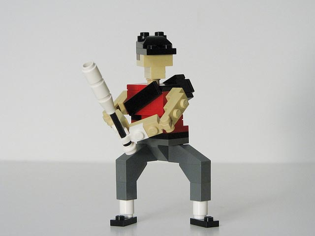 Team Fortress 2 Characters Made with LEGO Bricks | Gadgetsin