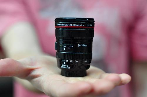 Camera Lens Styled Shot Glass Set