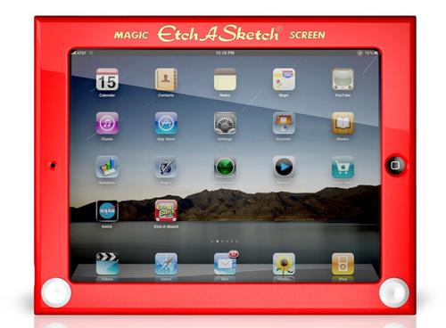 Etch A Sketch iPad 2 Case