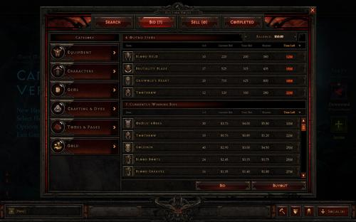 Diablo 3 More Like A MMO - Auction House