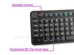 Rii Mini i6 Wireless Keyboard with IR Remote