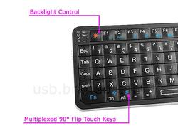 Rii Mini i6 Wireless Keyboard with IR Remote