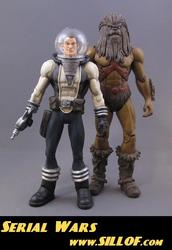 Serial Wars: Custom Star Wars Themed Action Figures