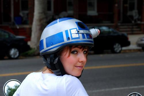 R2-D2 Helmet by Jenn Hall