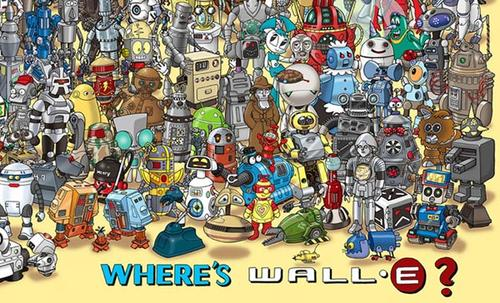 Where's Wall-E Poster