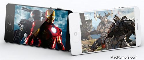 iPhone 5 Mockup Based on Leaked Case Design