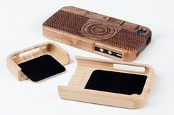 Camera Styled Wood iPhone 4 Case