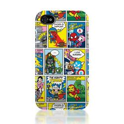 Iphone 8 Case >> Tokidoki Superhero Themed iPhone 4 Case | Gadgetsin