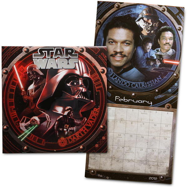 16-Month Star Wars 2012 Calendar