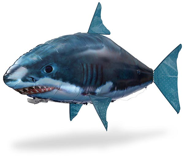 AirSwimmer Remote Controlled Flying Shark and Clownfish