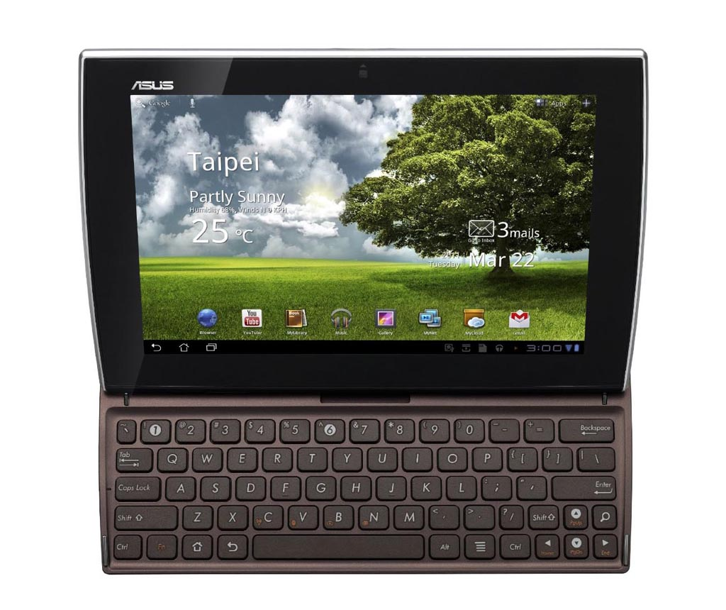 Asus Eee Pad Slider SL101 Android Tablet Now Available ...