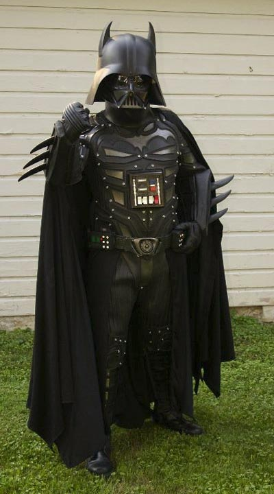 Batsuit Styled Darth Vader Costume