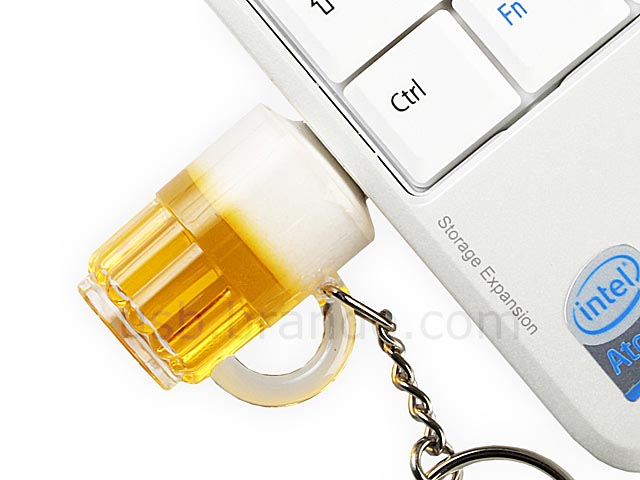 Beer Styled USB Flash Drive with Keychain