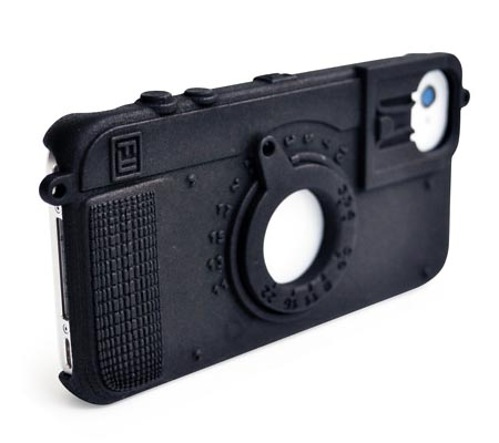 Fresh Fiber Camera 3D Printed iPhone 4 Case