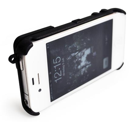 Fresh Fiber Camera 3D Printed iPhone 4 Case