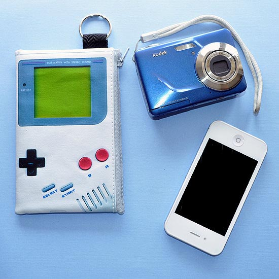 Game Boy Styled Zippered Pouch