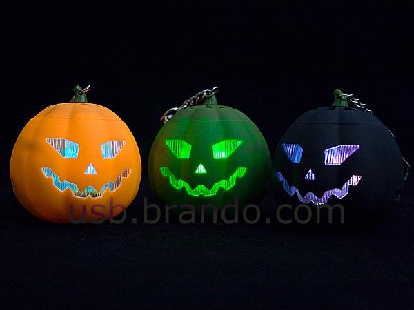 Halloween Pumpkin MP3 Player Doubled as Portable Speaker