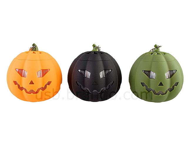 Halloween Pumpkin MP3 Player Doubled as Portable Speaker