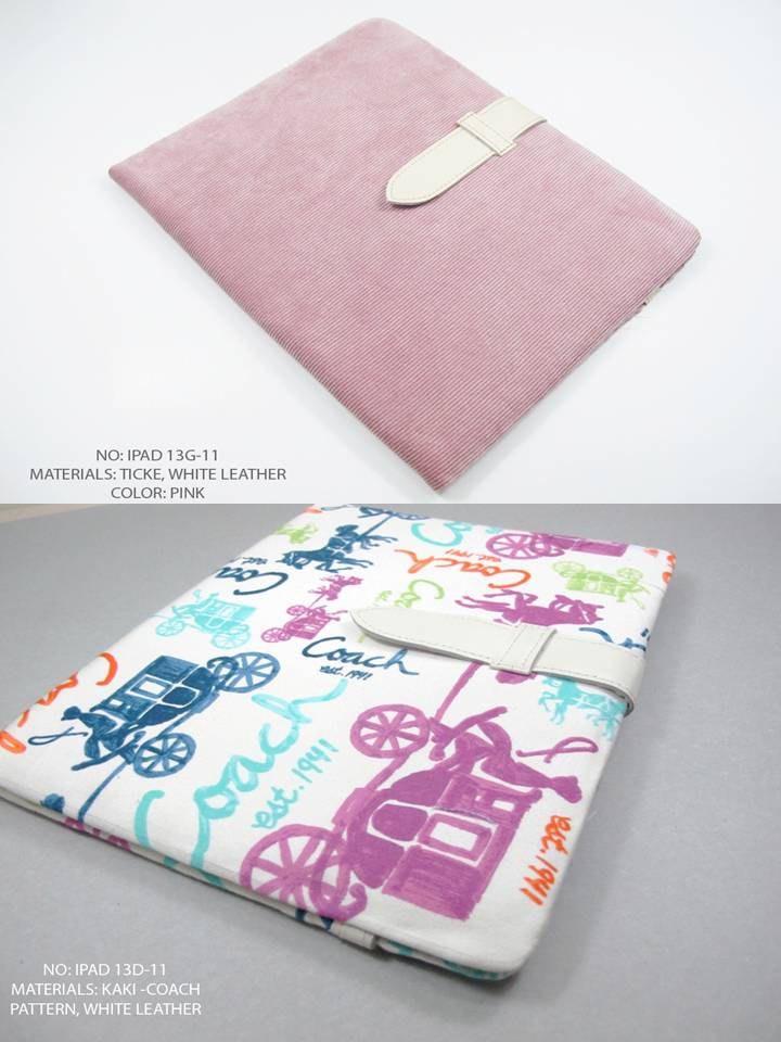 Handmade Velvet iPad 2 Case