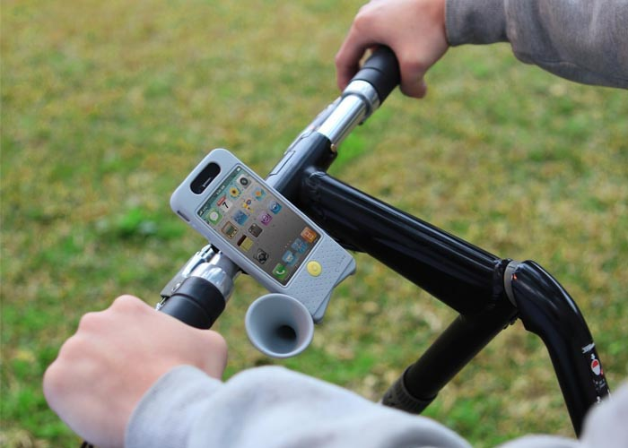 Horn Bike iPhone 4 Case for Bike Enthusiast