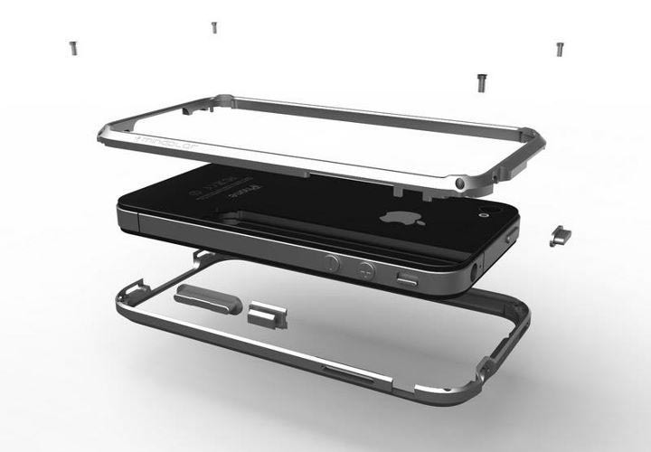 i+Case Aluminum iPhone 4 Case