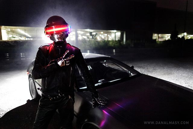 Incredible Daft Punk Helmet