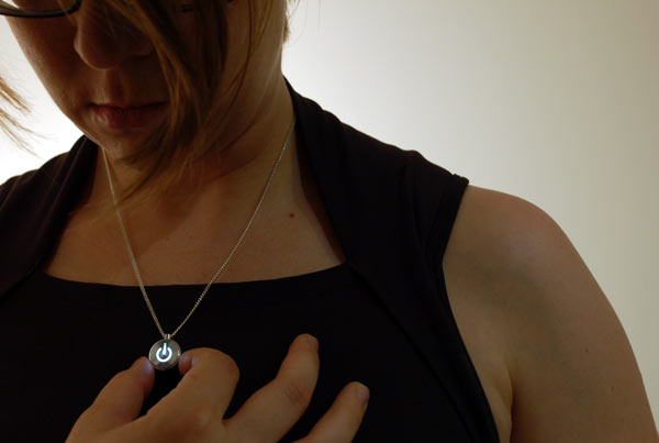 iNecklace Open Source Wearable Electronic Pendant