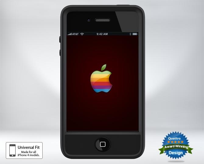 IvySkin Quattro4 Wrangler iPhone 4 Case