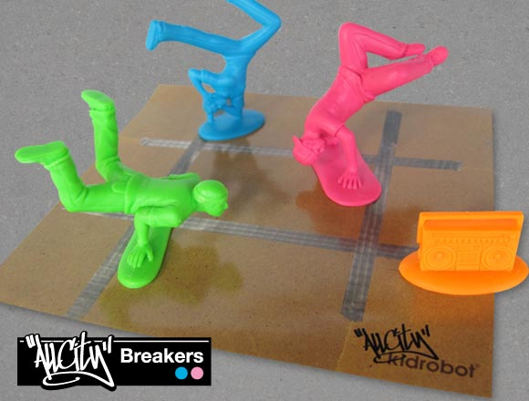 Kidrobot All City Breakers Mini Figures Series