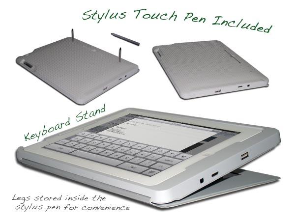 LilyPad Solar iPad 2 Case