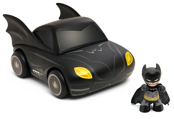 Mini Mez-Itz Batmobile with Batman Figure