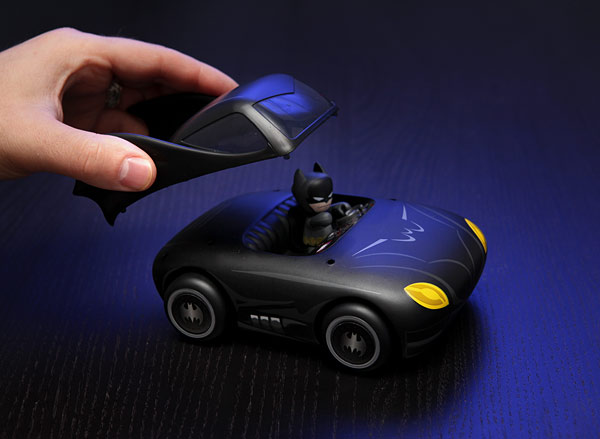 Mini Mez-Itz Batmobile with Batman Figure