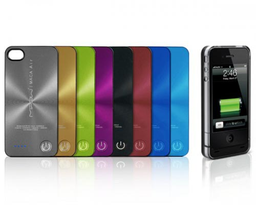 MiPow Maca Air Color iPhone 4 Battery Case