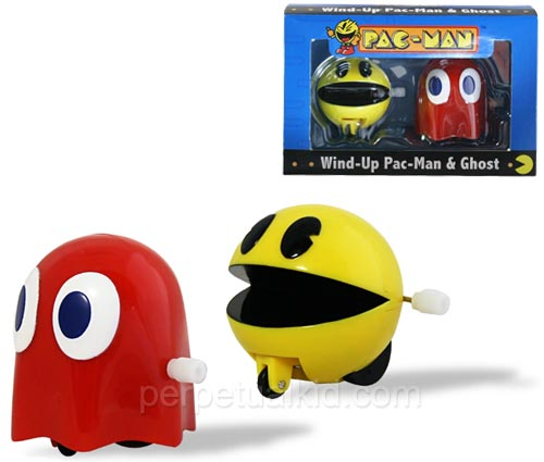 Pacman Wind-Up Toys