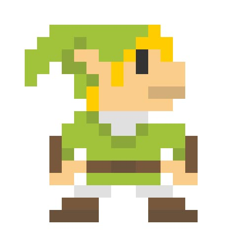 8 Bit Cartoon Characters : Pixel art inspired by pop culture characters gadgetsin