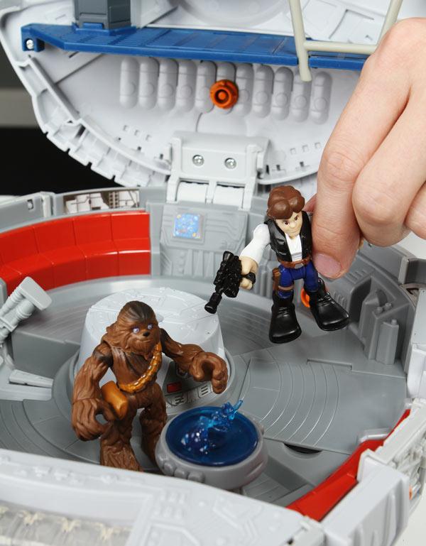 Playskool Star Wars Millennium Falcon Playset