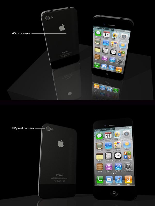 Reasonable iPhone 4S Design Concept
