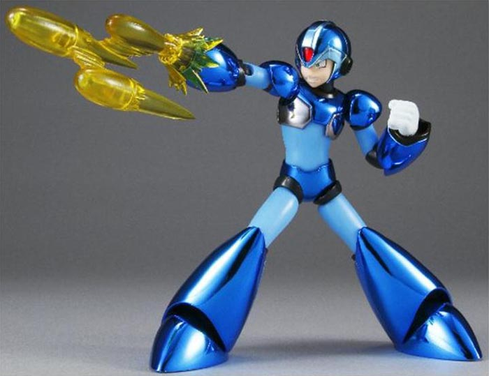 SDCC 2011 Exclusive D-Arts Metallic Mega Man X Action Figure
