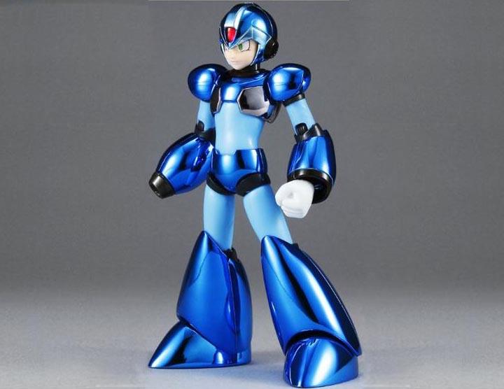 SDCC 2011 Exclusive D-Arts Metallic Mega Man X Action Figure