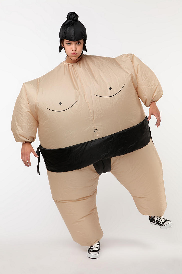 Self Inflating Sumo Suit for Your Halloween Party