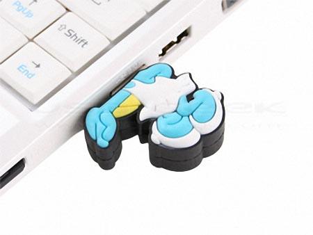Smurfette Styled USB Flash Drive