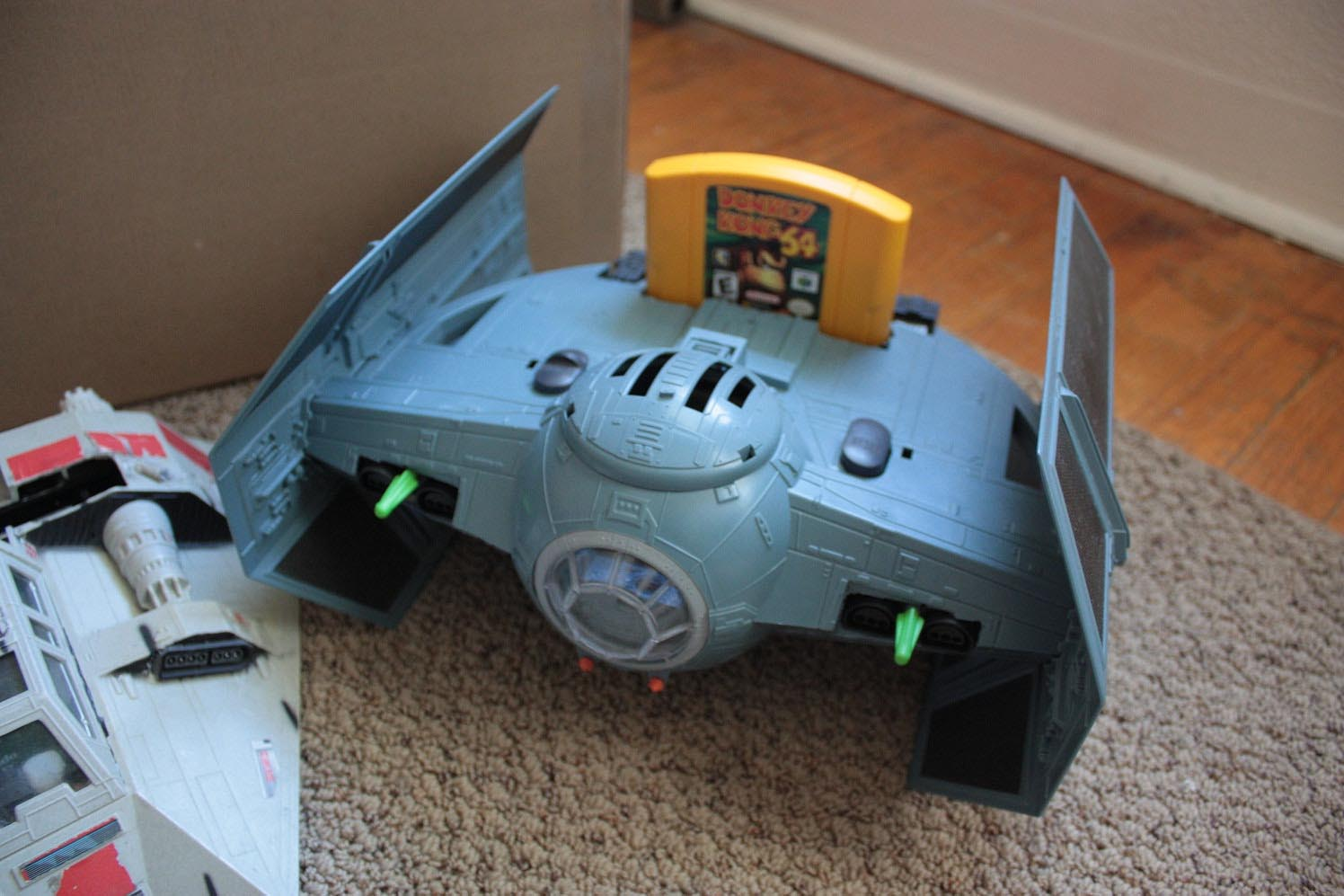 Star Wars Snowspeeder Snes And Tie Fighter N64 Gadgetsin