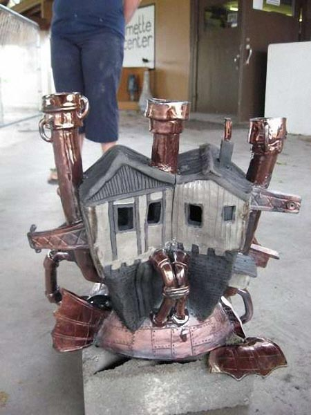 Steampunk Howl's Moving Castle