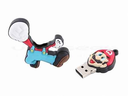 Super Mario Shaped USB Flash Drive