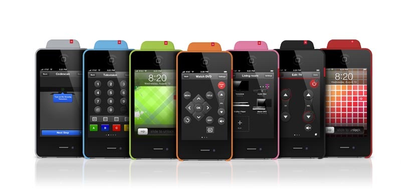 VooMote Zapper Universal Remote Control for iPhone, iPod Touch and iPad