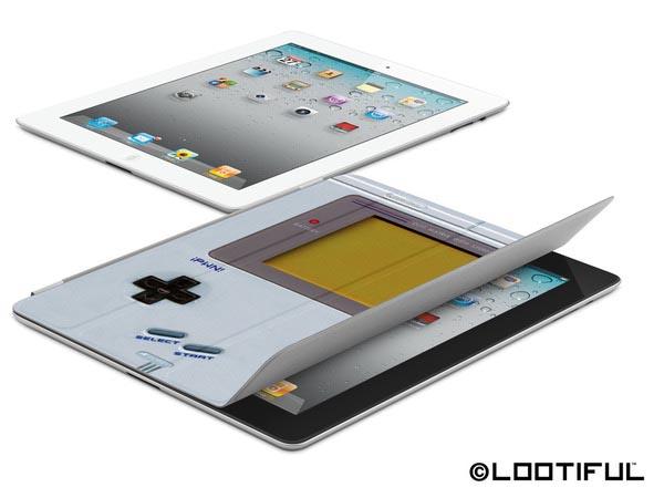 World4 iPWN! Game Boy iPad 2 Smart Cover