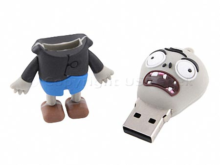 Zombie Styled USB Flash Drive