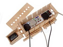 DIY Wooden AT-AT Walker Storage Box for Power Strip and Tangled Cables